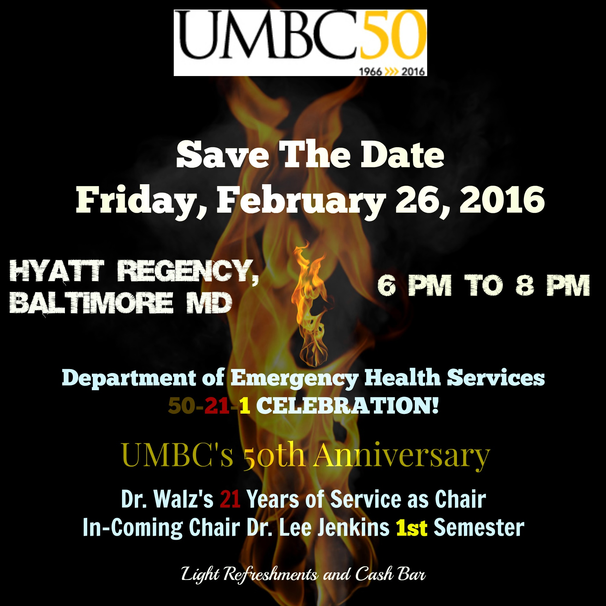 UMBC Alumni Reception after EMS Today Conference
